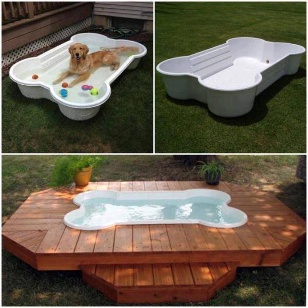 Provide water for your pets by your patio