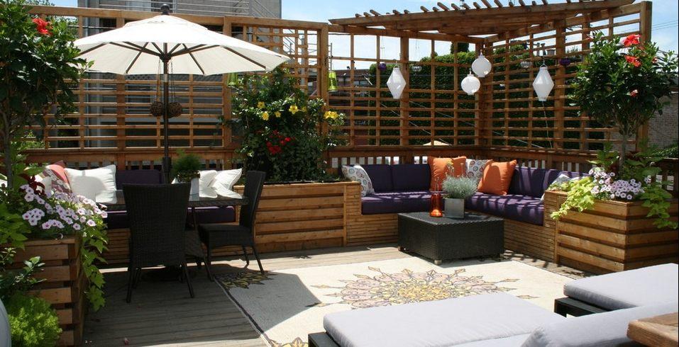 Organize your patio