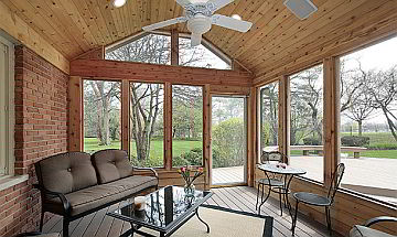 Functional Design Solutions for an Enclosed Patio ... on Patio Enclosures Ideas  id=57506