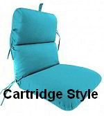 Cartridge style cushions