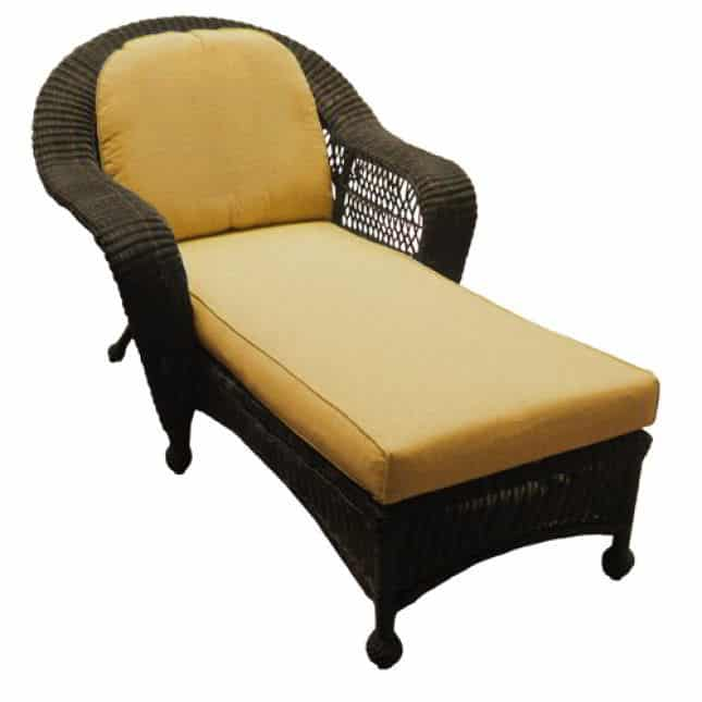 Chicago wicker cushions north cape international nci for Chaise lounge chicago