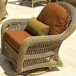 Chicago wicker cushions