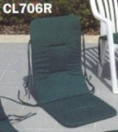 high-back chair pad