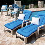 Resin chair cushions