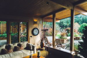 By roofing your patio, you'll instantly extend habitable space